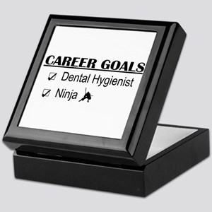 Dental Hygienist Career Goals Keepsake Box